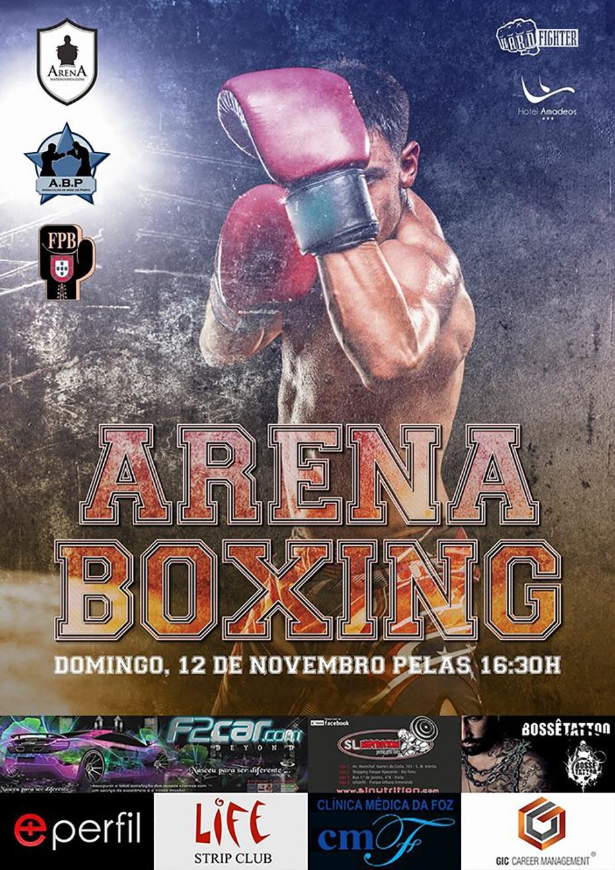 Boxe Regressa à Arena de Matosinhos