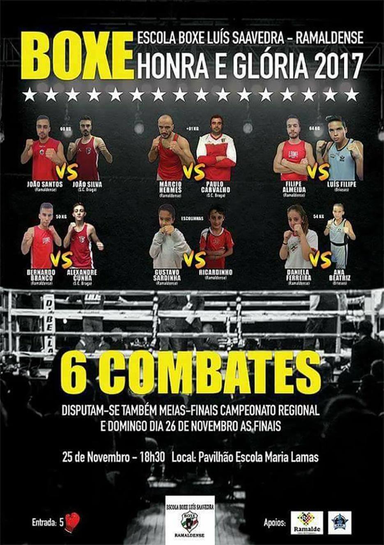 Gala de Boxe Honra e Glória 2017