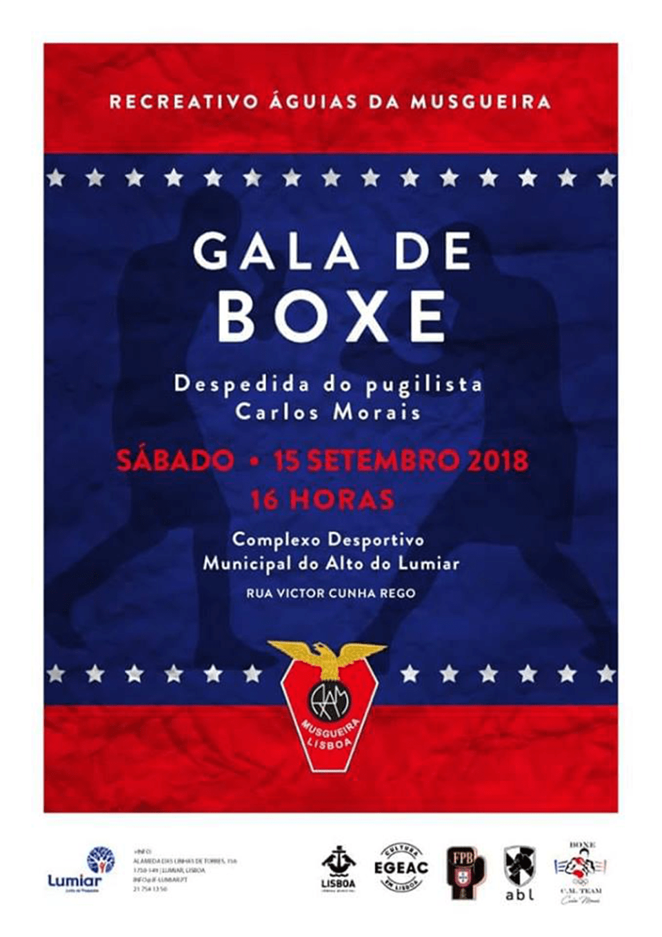 Gala de Boxe 15 de Setembro de 2018